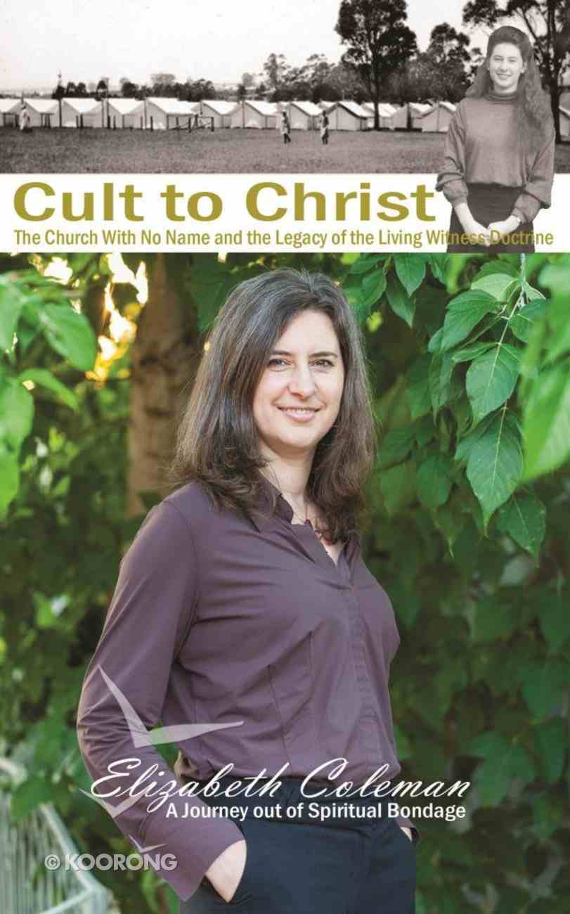 Cult to Christ Paperback