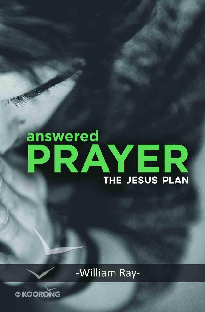 Answered Prayer: The Jesus Plan Paperback