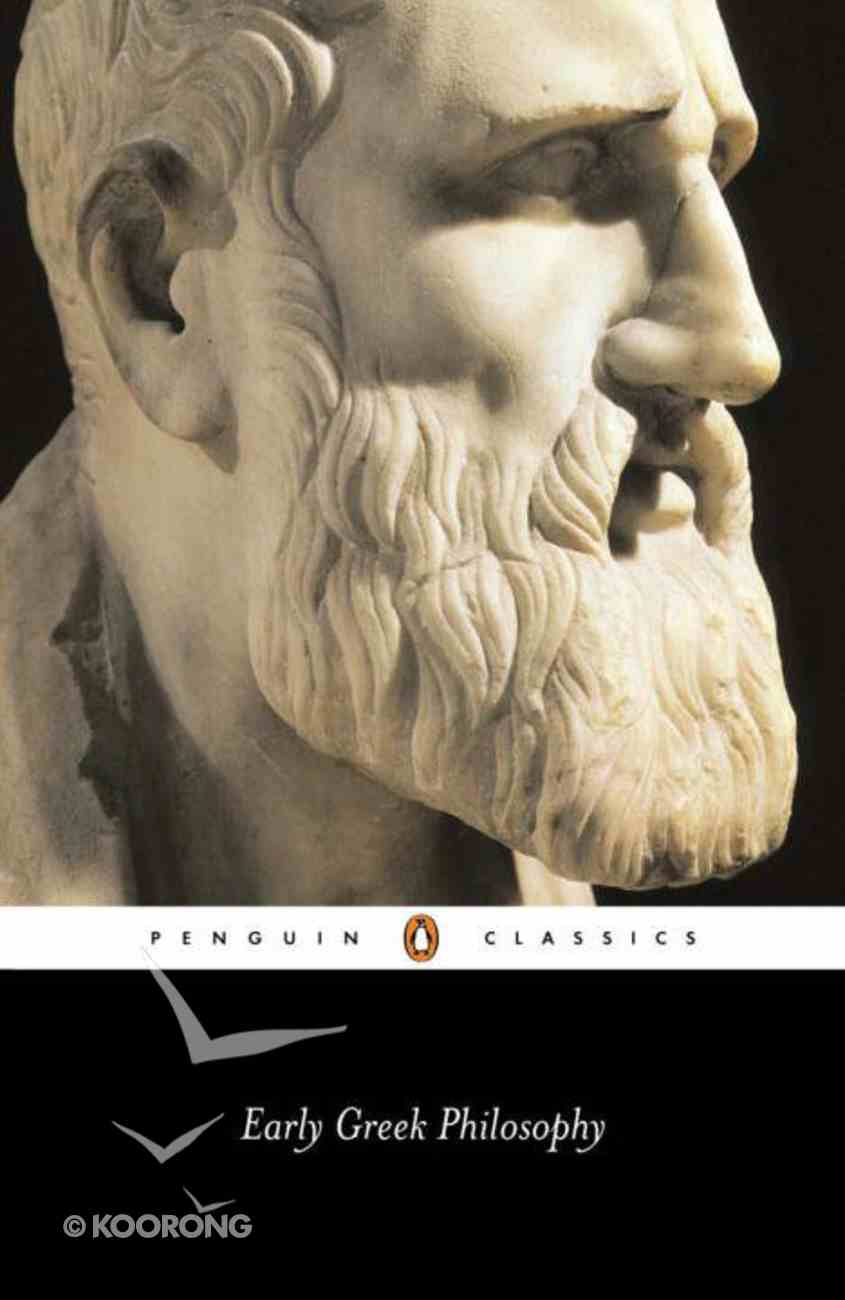 Early Greek Philosophy (2nd Edition) Paperback