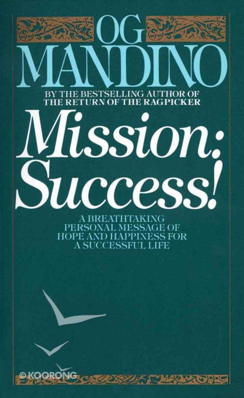 Mission Success Paperback