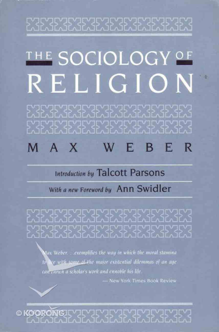 The Sociology of Religion Paperback