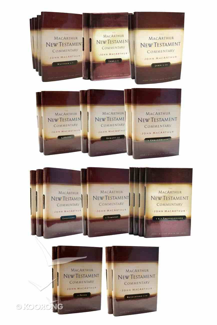 Complete New Testament Commentary Set (33 Vols) (Macarthur New Testament Commentary Series) Pack