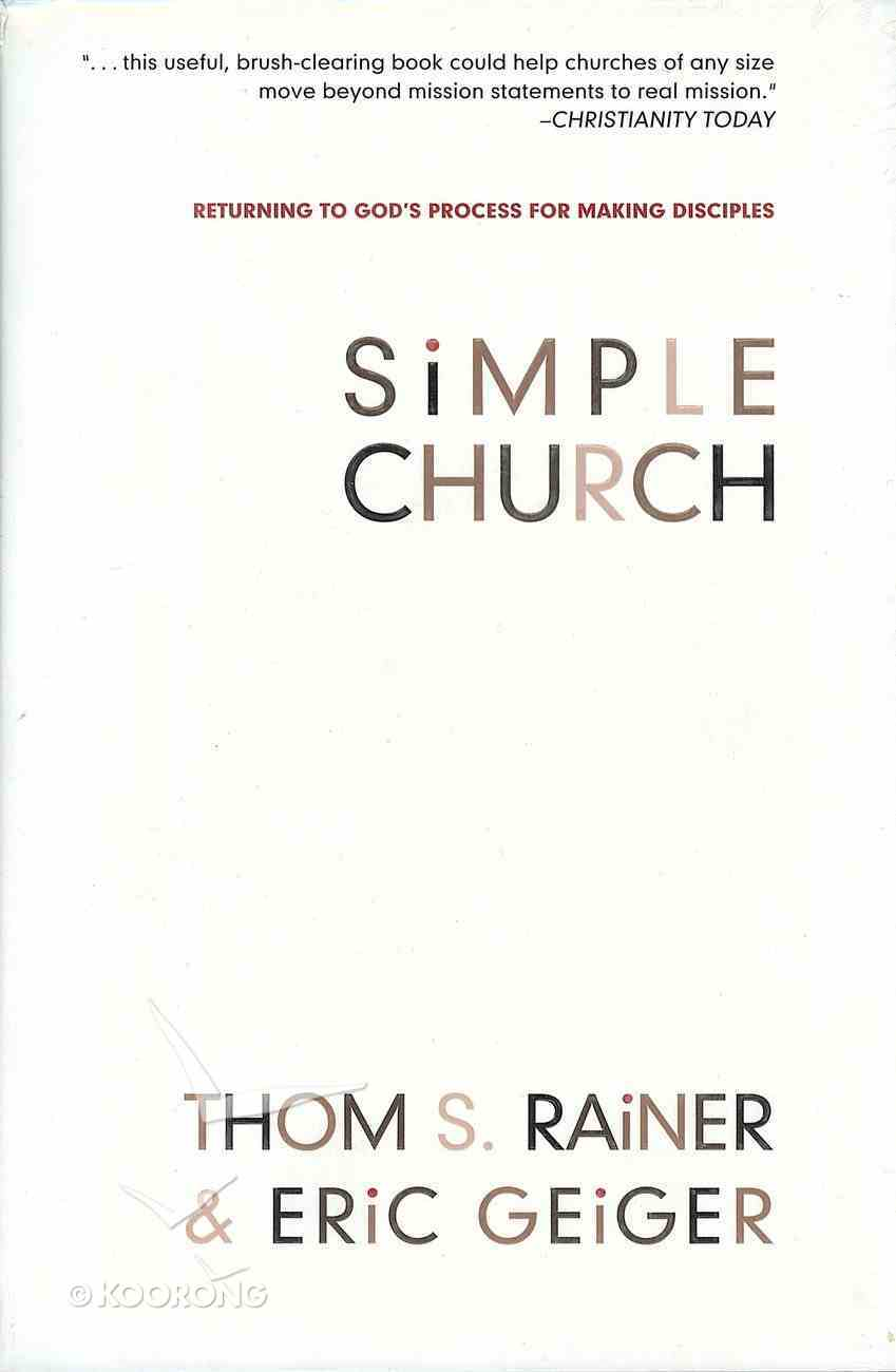 Simple Church Hardback