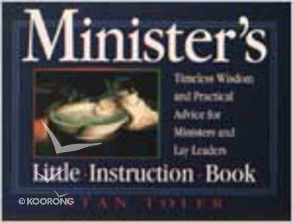 Minister's Little Instruction Book Paperback
