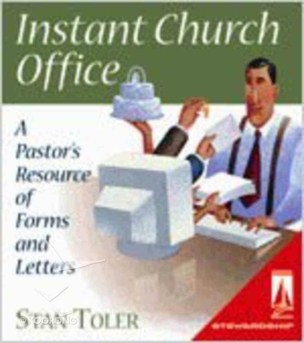 Instant Church Office (Lifestream Resources Kits Series) Ring Bound