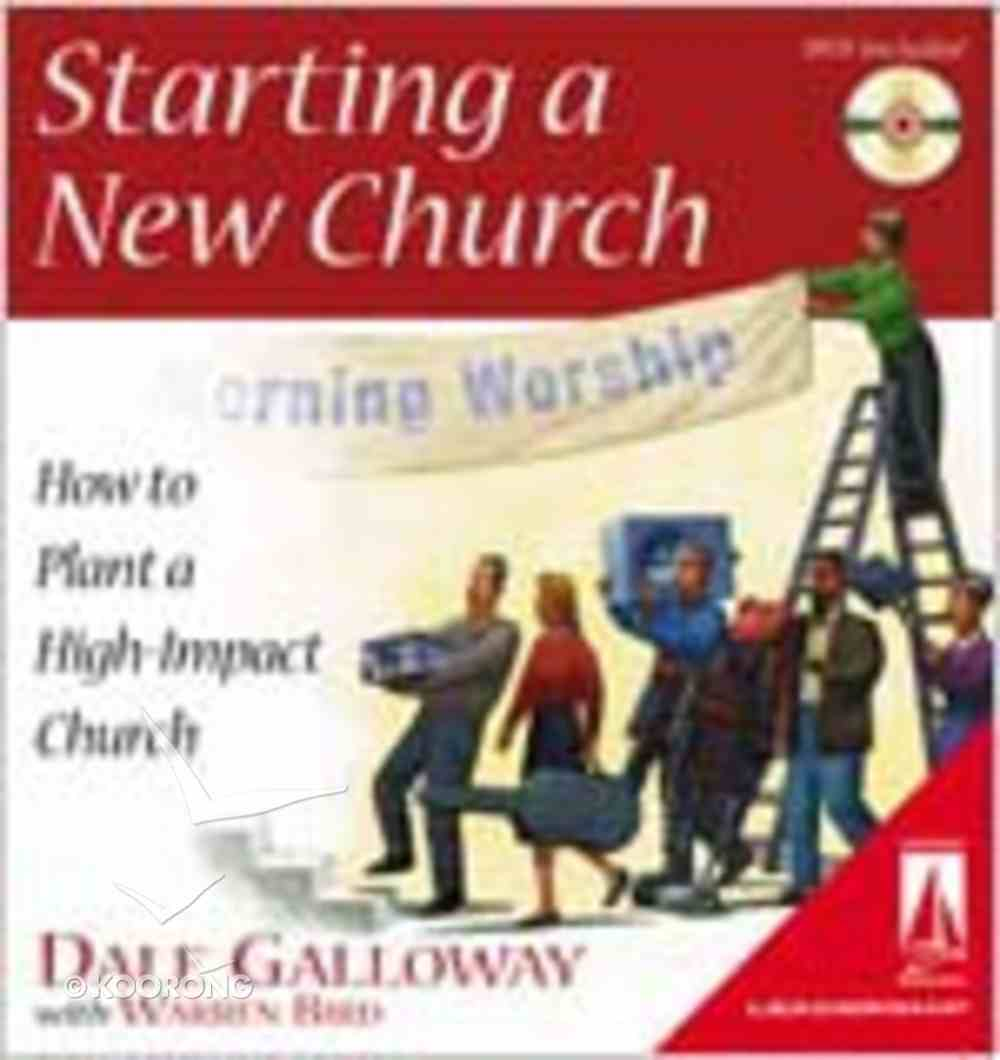 Starting a New Church (Includes DVD) (Lifestream Resources Kits Series) Ring Bound