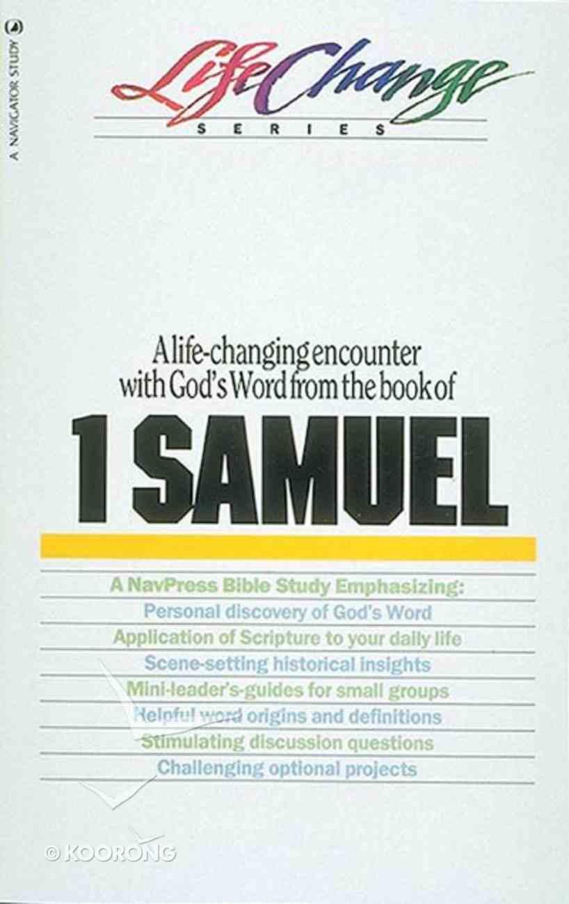1 Samuel (Lifechange Study Series) Paperback