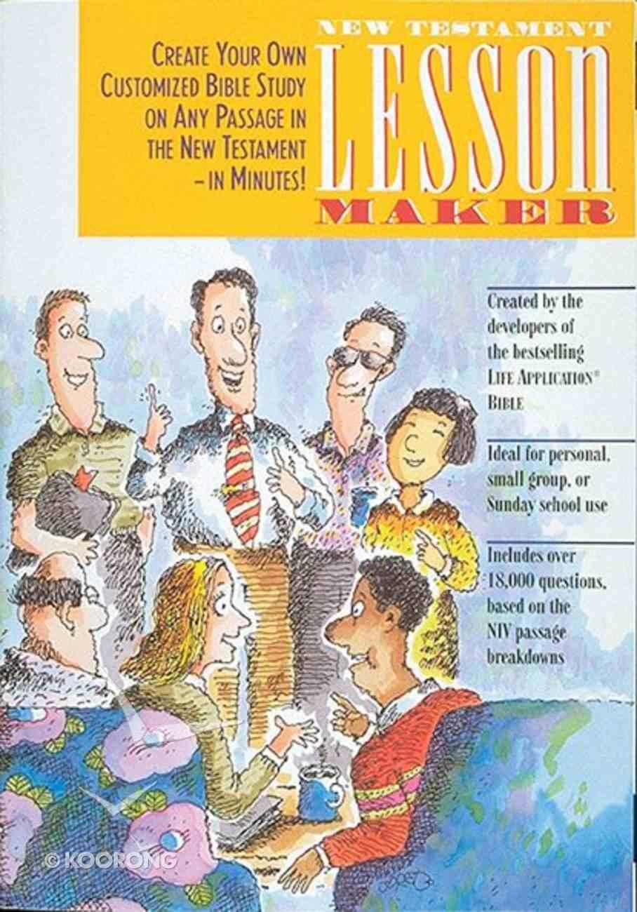 New Testament Lessonmaker Paperback