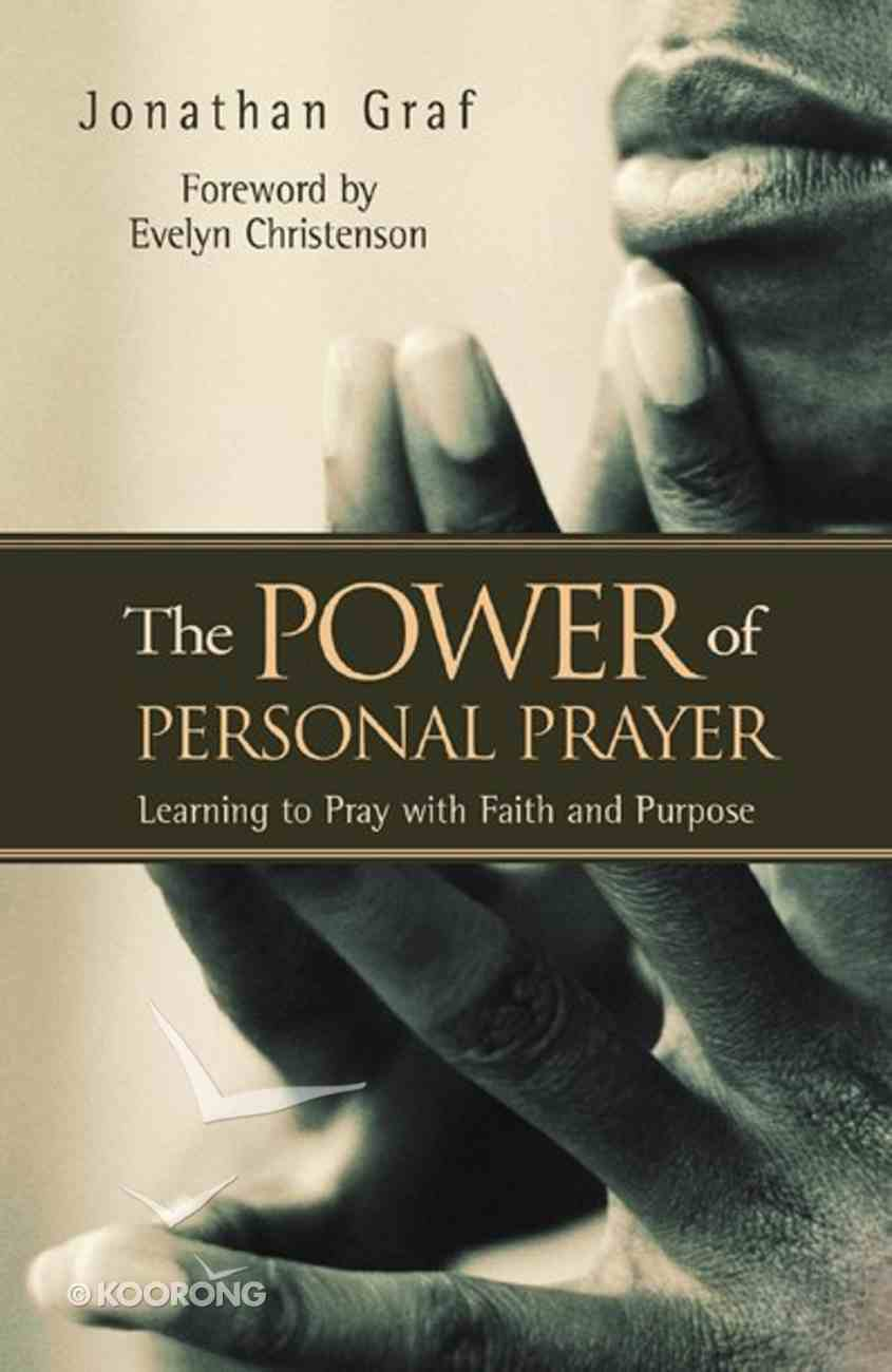 The Power of Personal Prayer Paperback