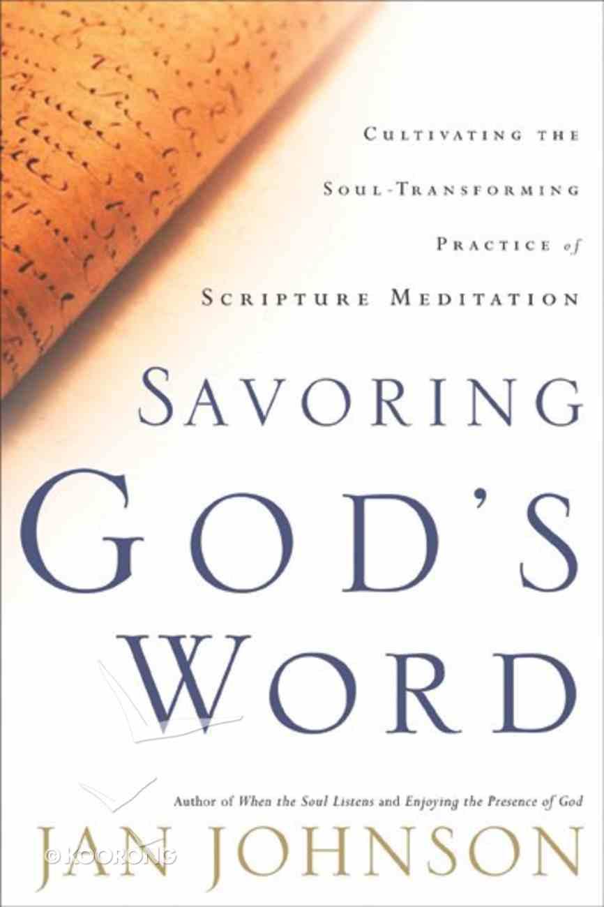 Savoring God's Word Paperback