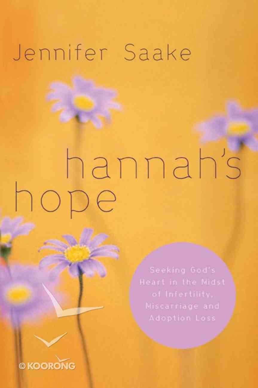 Hannah's Hope Paperback