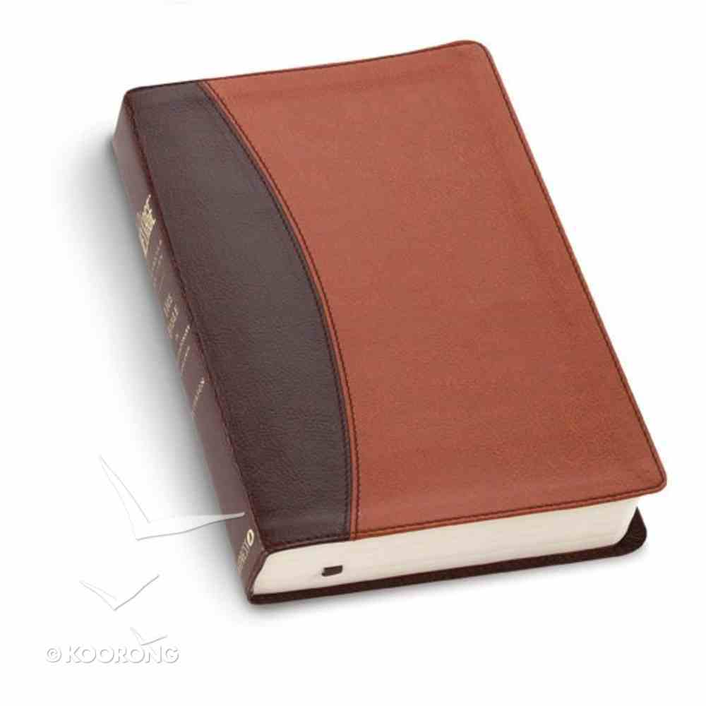 Message Numbered Edition Brown/Tan Imitation Leather