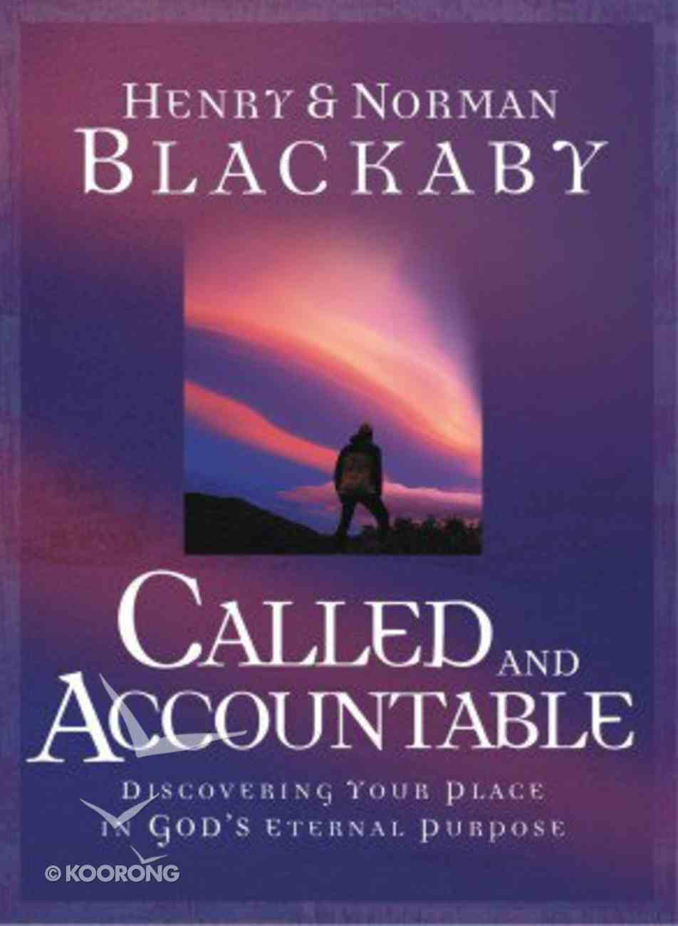 Called and Accountable Hardback