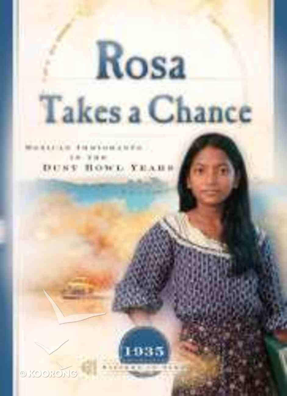 Rosa Takes a Chance (Sisters In Time Series) Paperback