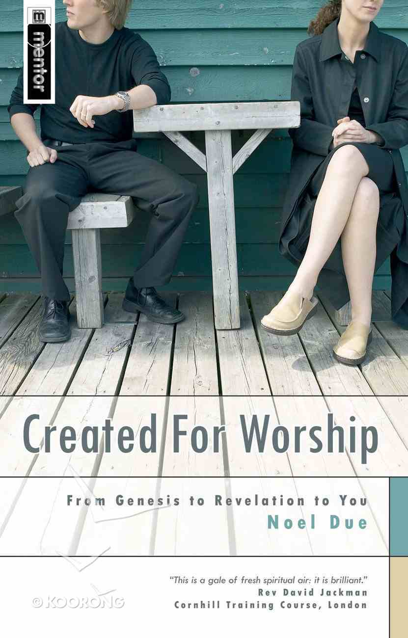 Created For Worship Paperback