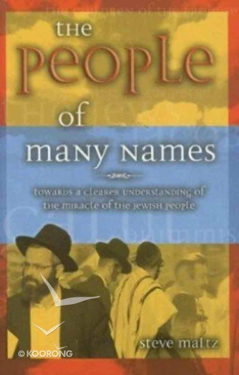 The People of Many Names Paperback