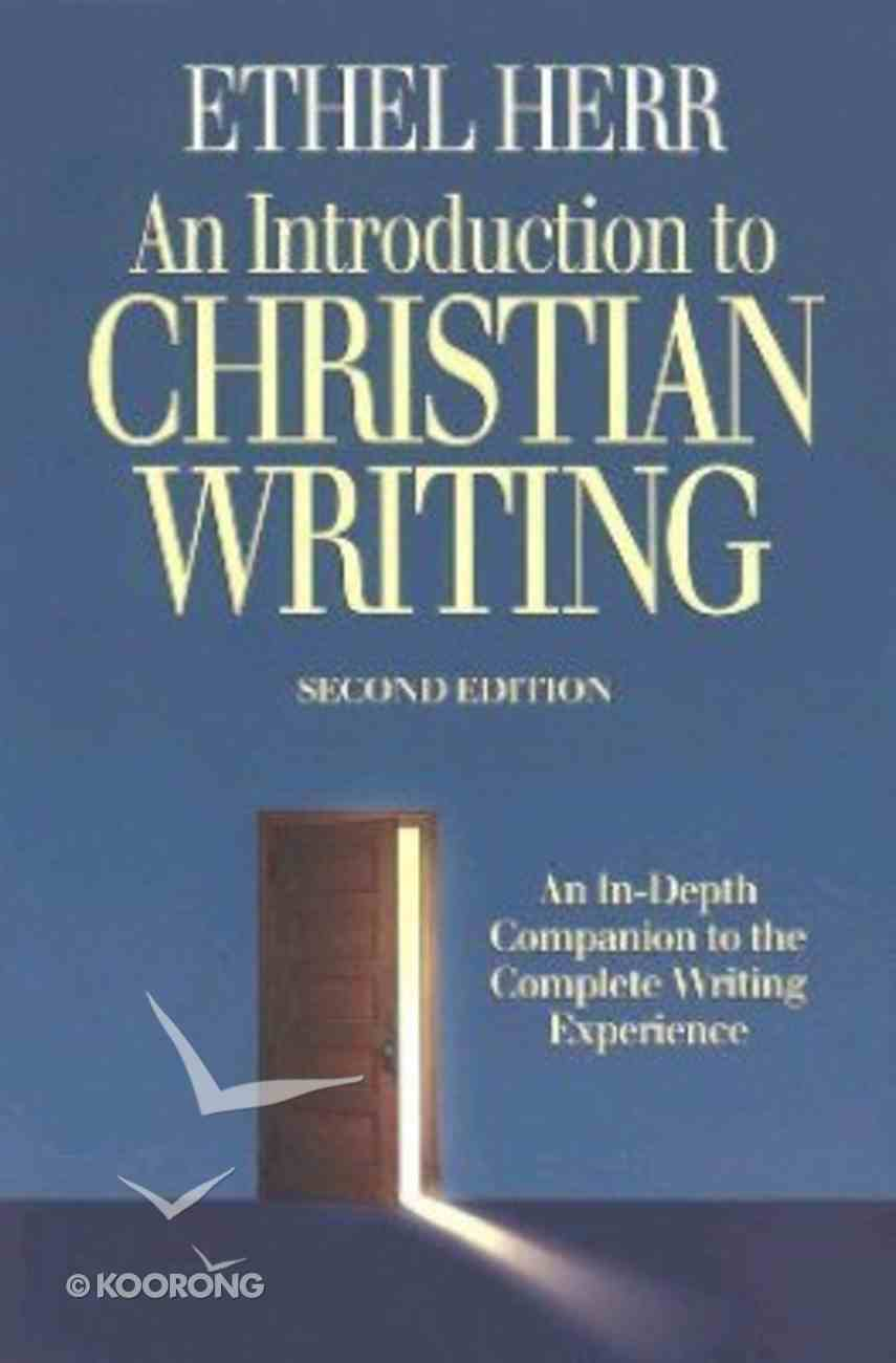 An Introduction to Christian Writing Paperback