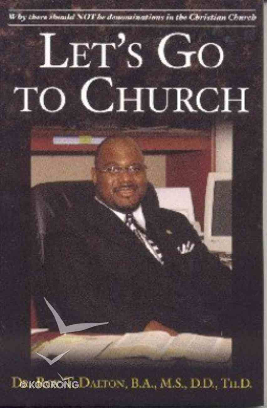 Let's Go to Church Paperback