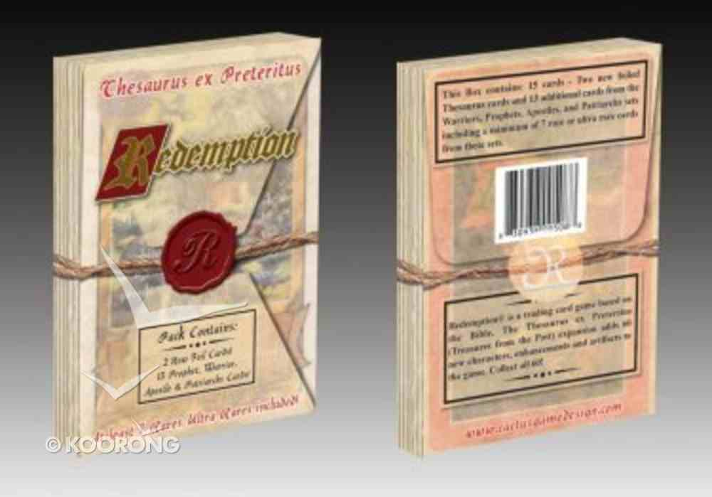 Redemption: Thesaurus Ex Preteritus Card Pack (15 Cards) (Redemption Card Game Series) Cards