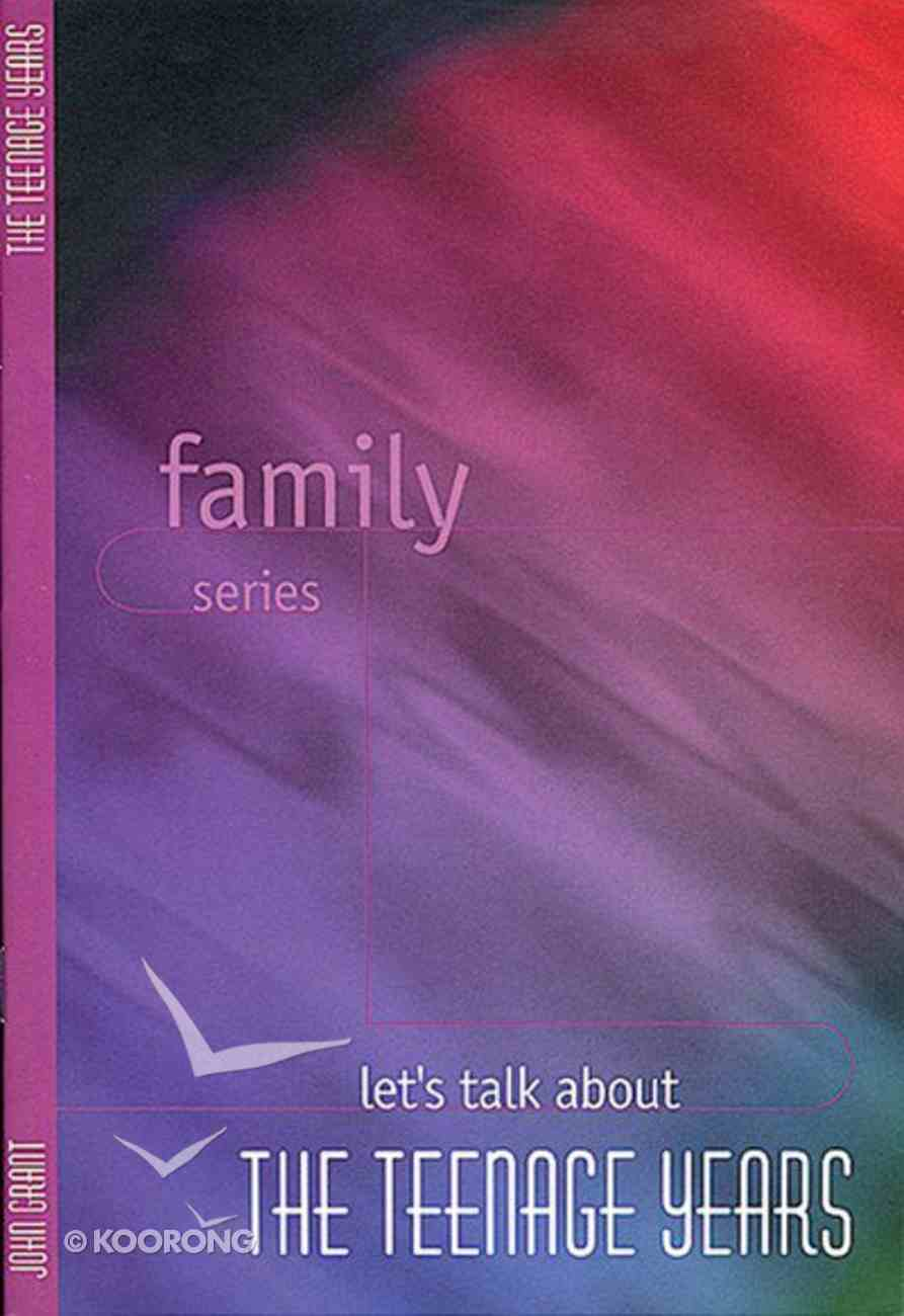 Let's Talk About Teenage Years (Family Series) Booklet