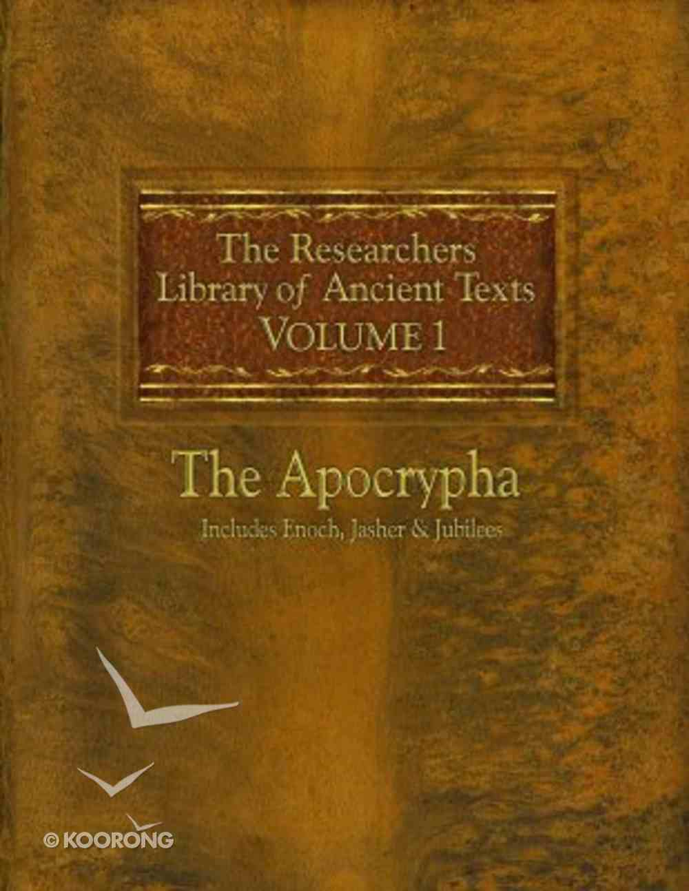 Researchers Library of Ancient Texts, the #01 Paperback