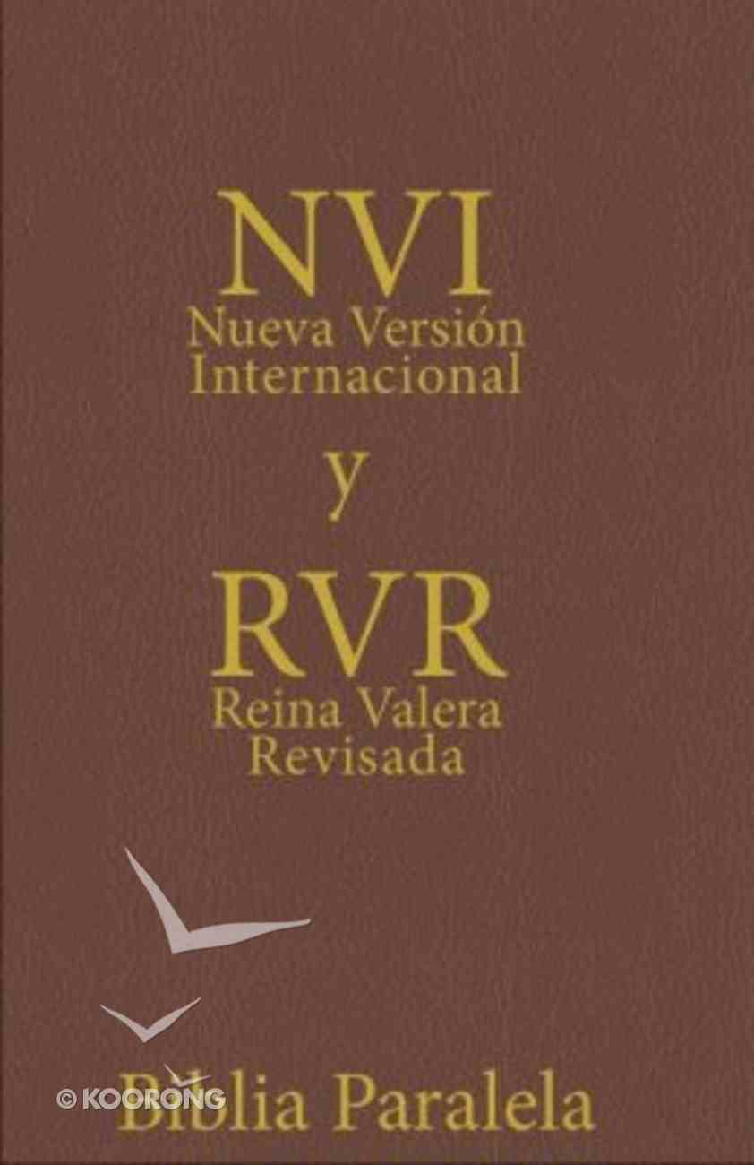 Nvi/Rv 1977 Biblia Paralela/Spanish Nvi/Rv Parallel Brown Imitation Leather