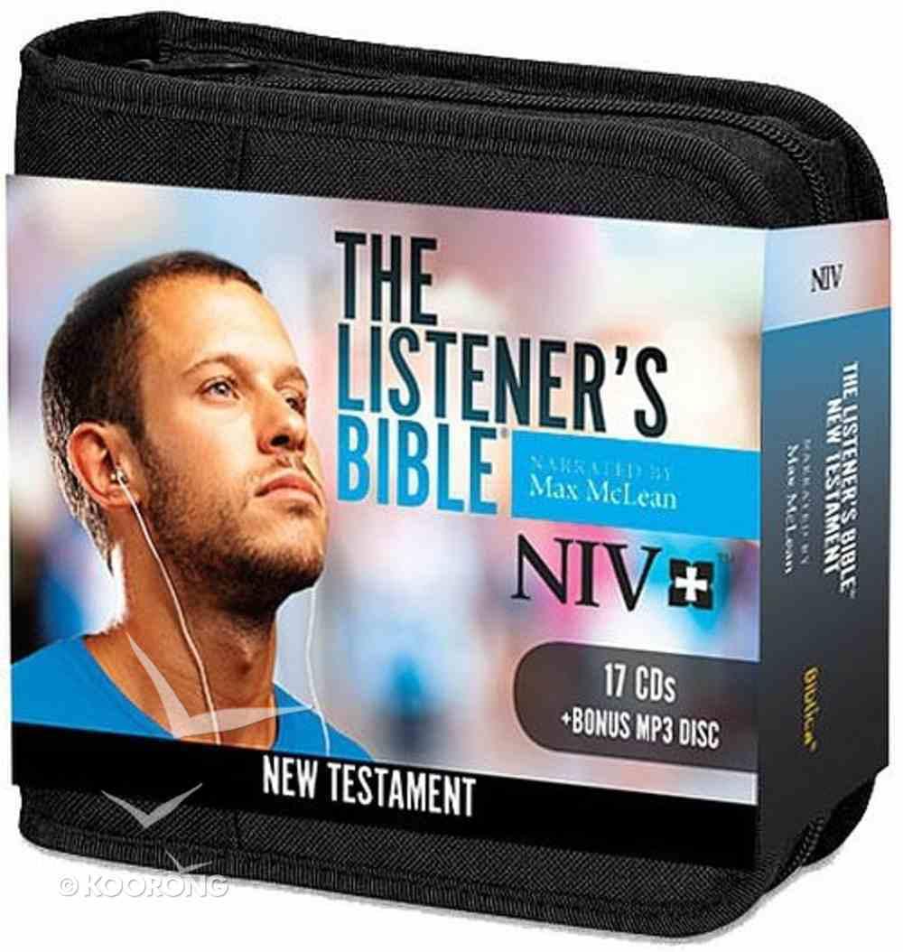 NIV Listener's Audio Bible New Testament (17 Cds) CD