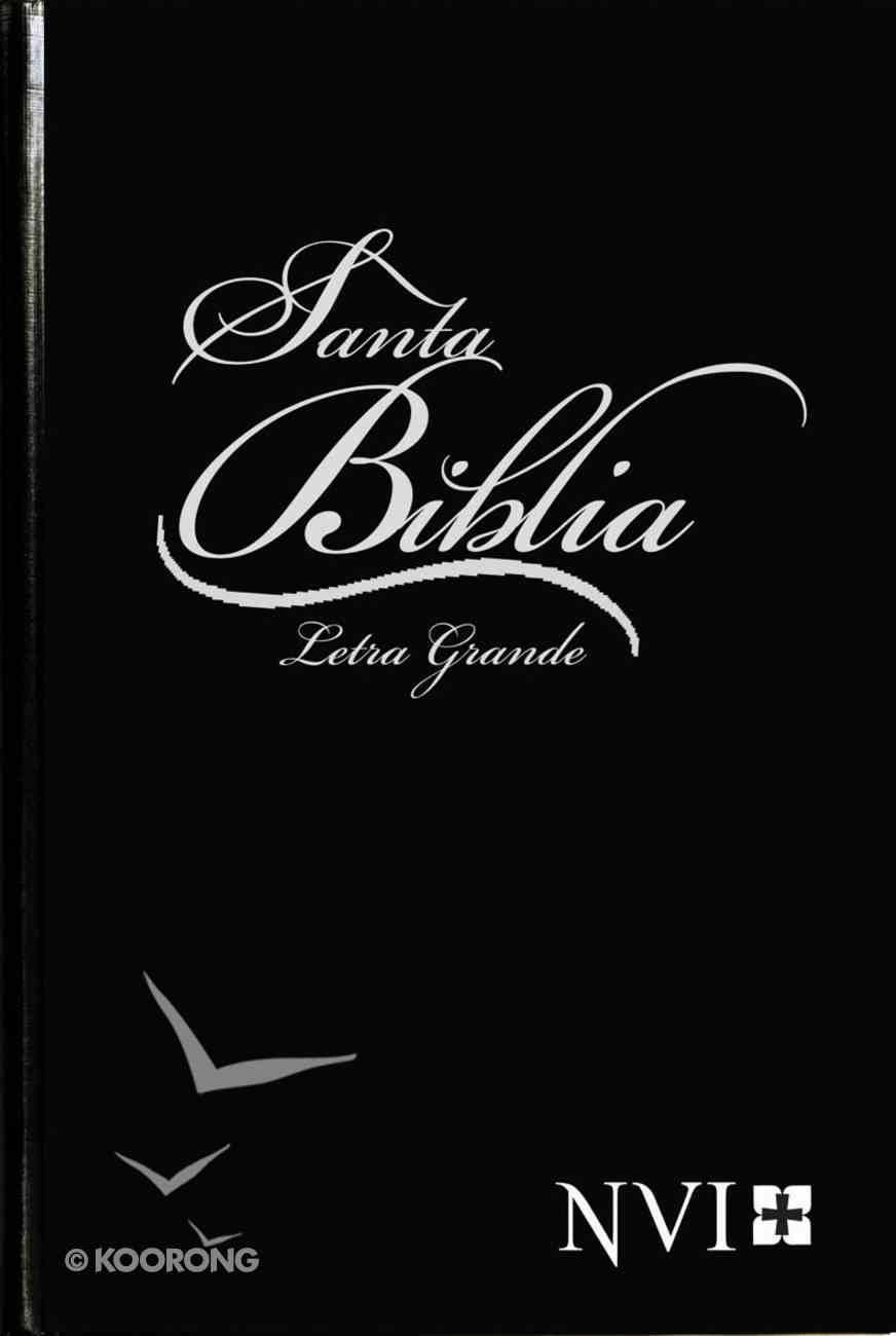 Nvi Biblia Letra Grande Black (Large Print Bible) Hardback