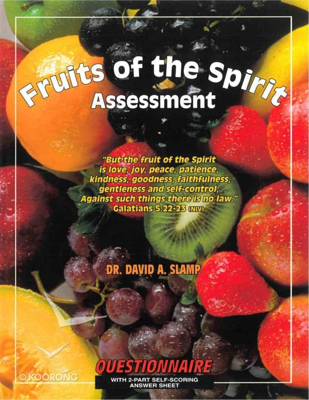 Fruit of the Spirit Survey Paperback