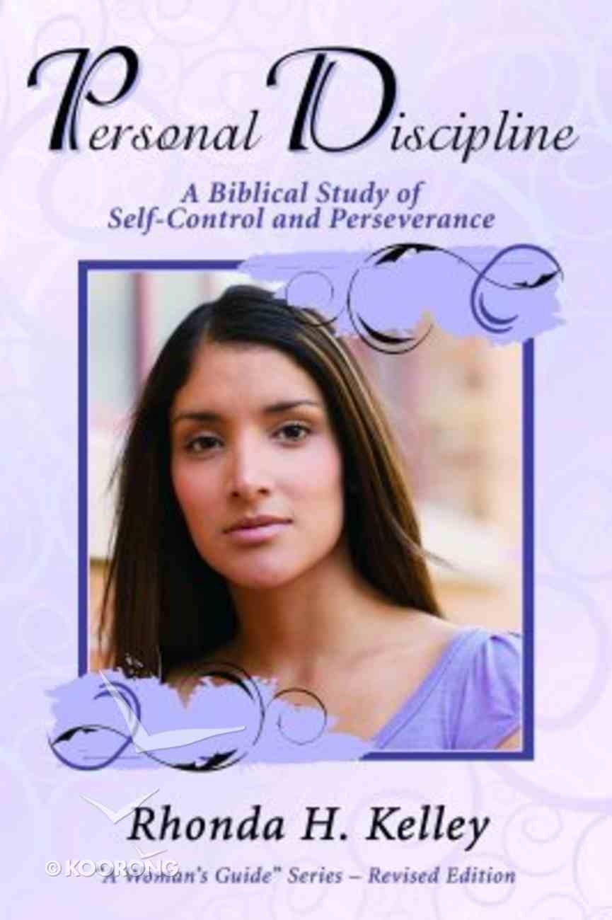 Personal Discipline (Woman's Guide Series) Paperback