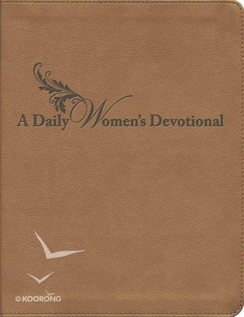 A Daily Woman's Devotional Imitation Leather