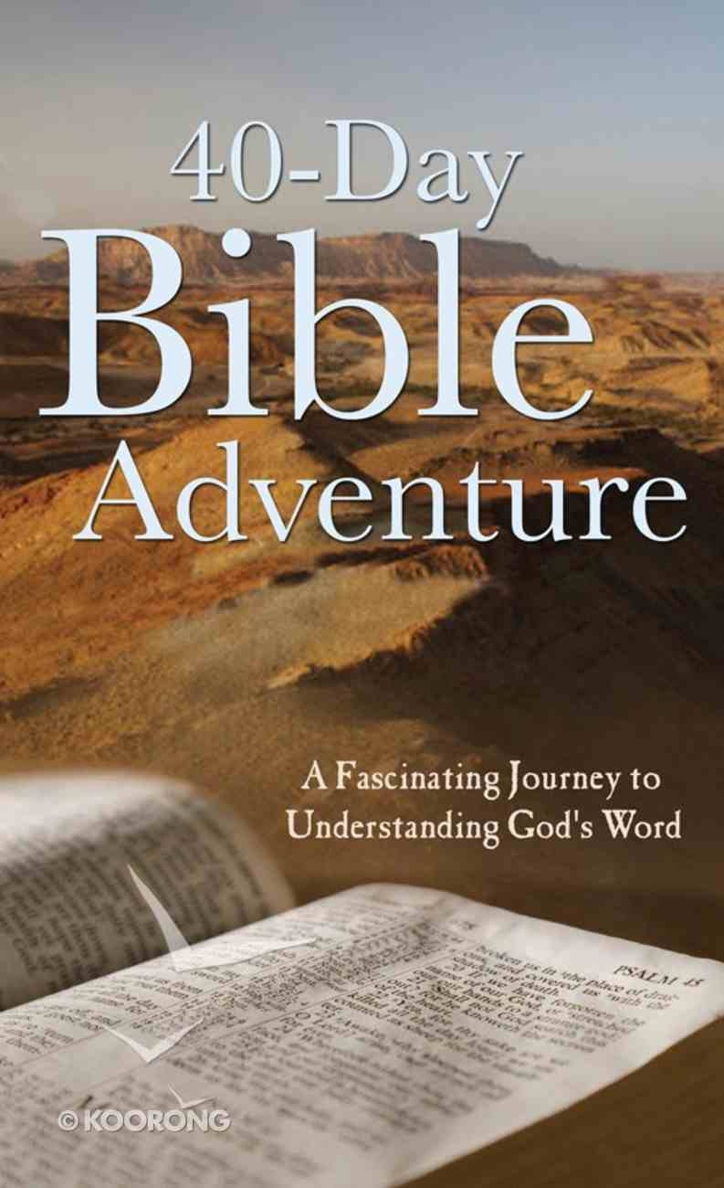 Value Books: 40-Day Bible Adventure Paperback