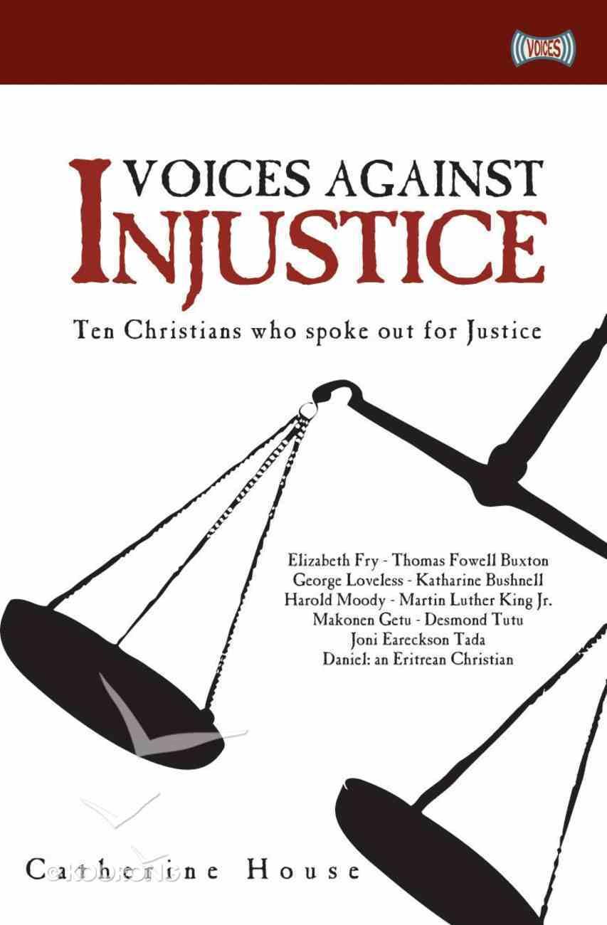 Voices Against Injustice Paperback