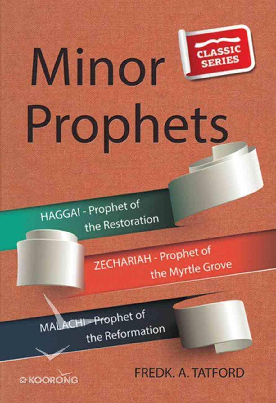 Minor Prophets - Book 1 (Classic Re-print Series) Paperback