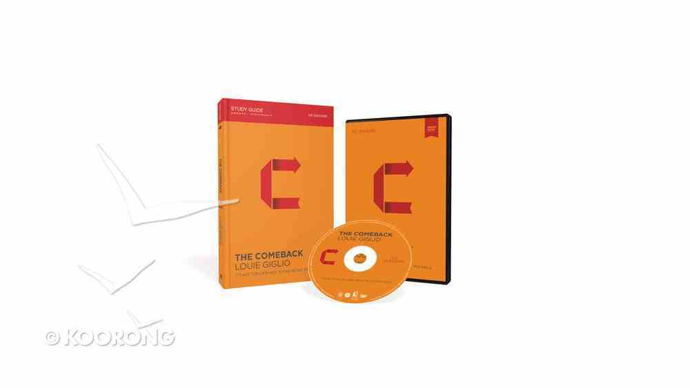 The Comeback (Study Guide With Dvd) Pack