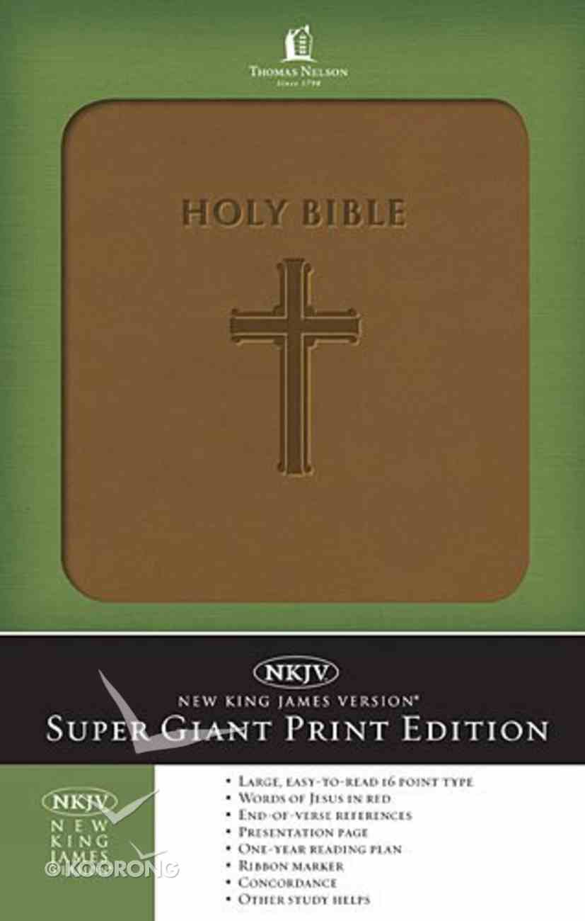 NKJV Holy Bible Super Giant Print Edition Imitation Leather