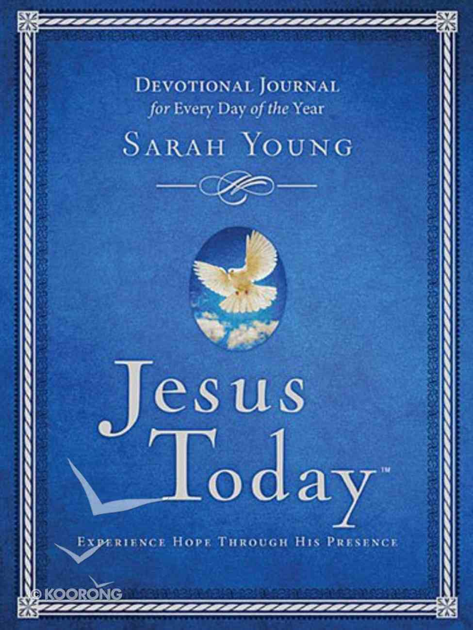 Jesus Today Devotional Journal Hardback