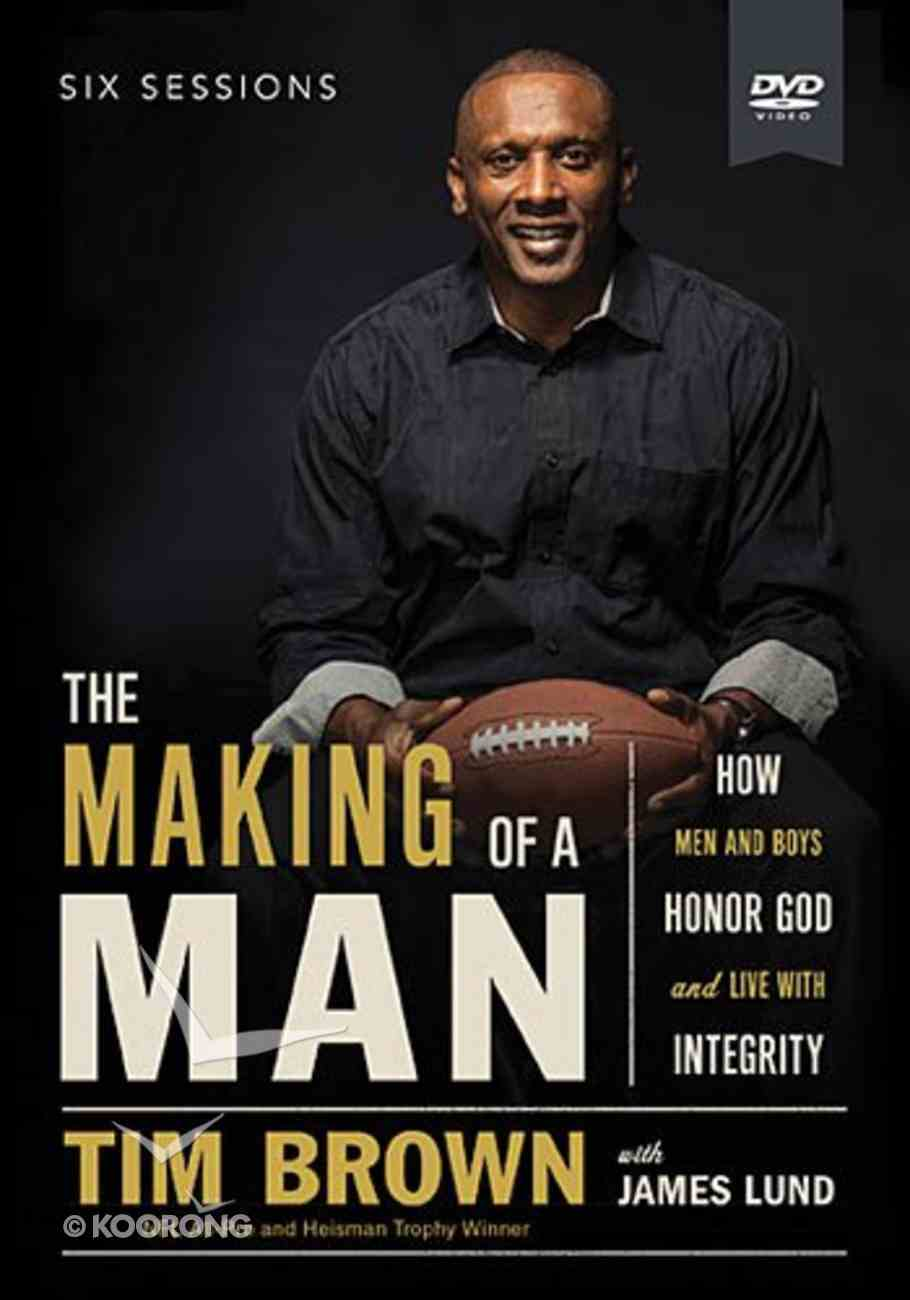 The Making of a Man (A Dvd Study) DVD