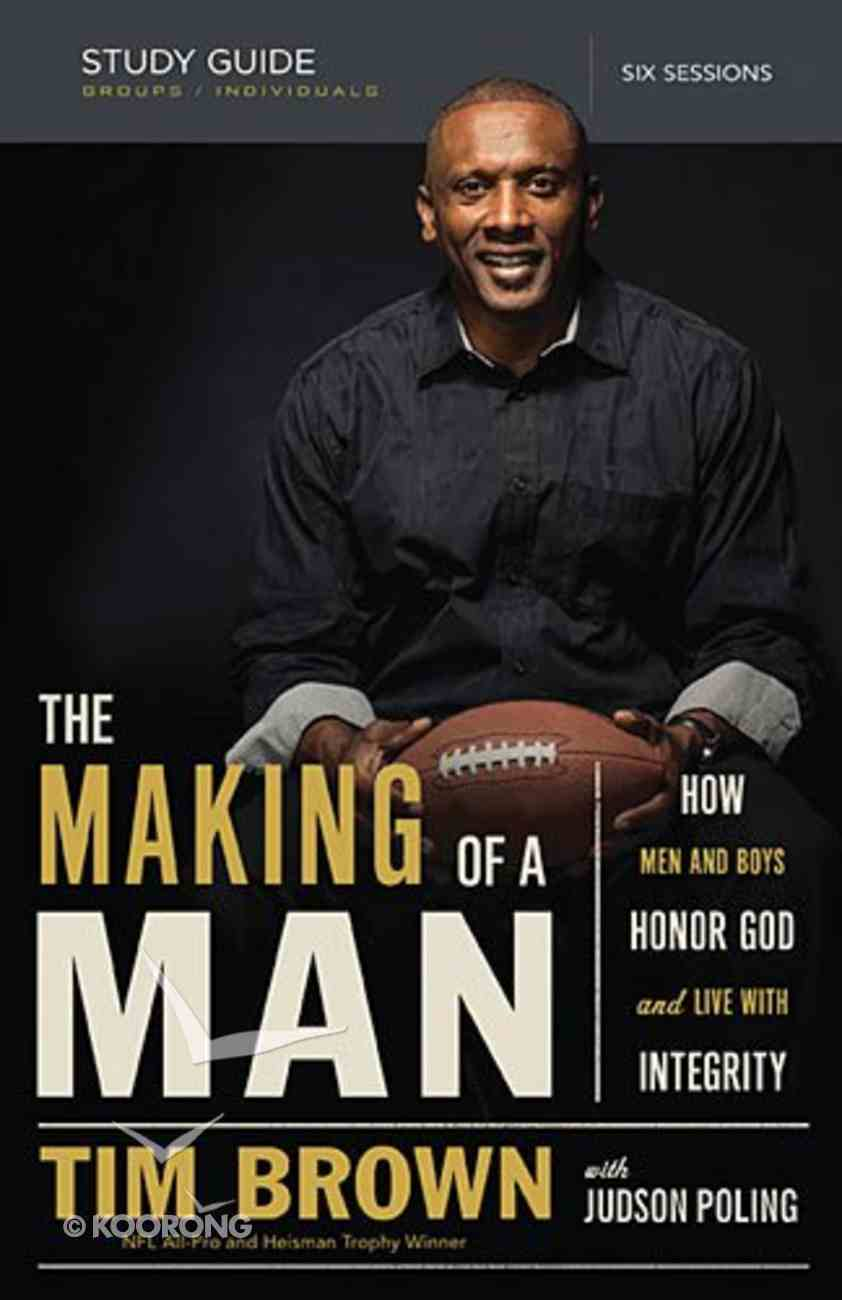 The Making of a Man (Study Guide With Dvd) Pack