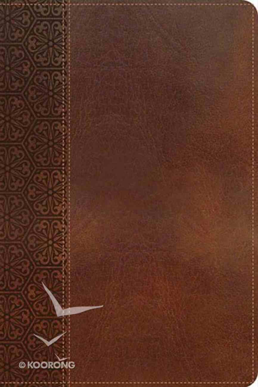 KJV Gift Bible Brown (Red Letter Edition) Imitation Leather