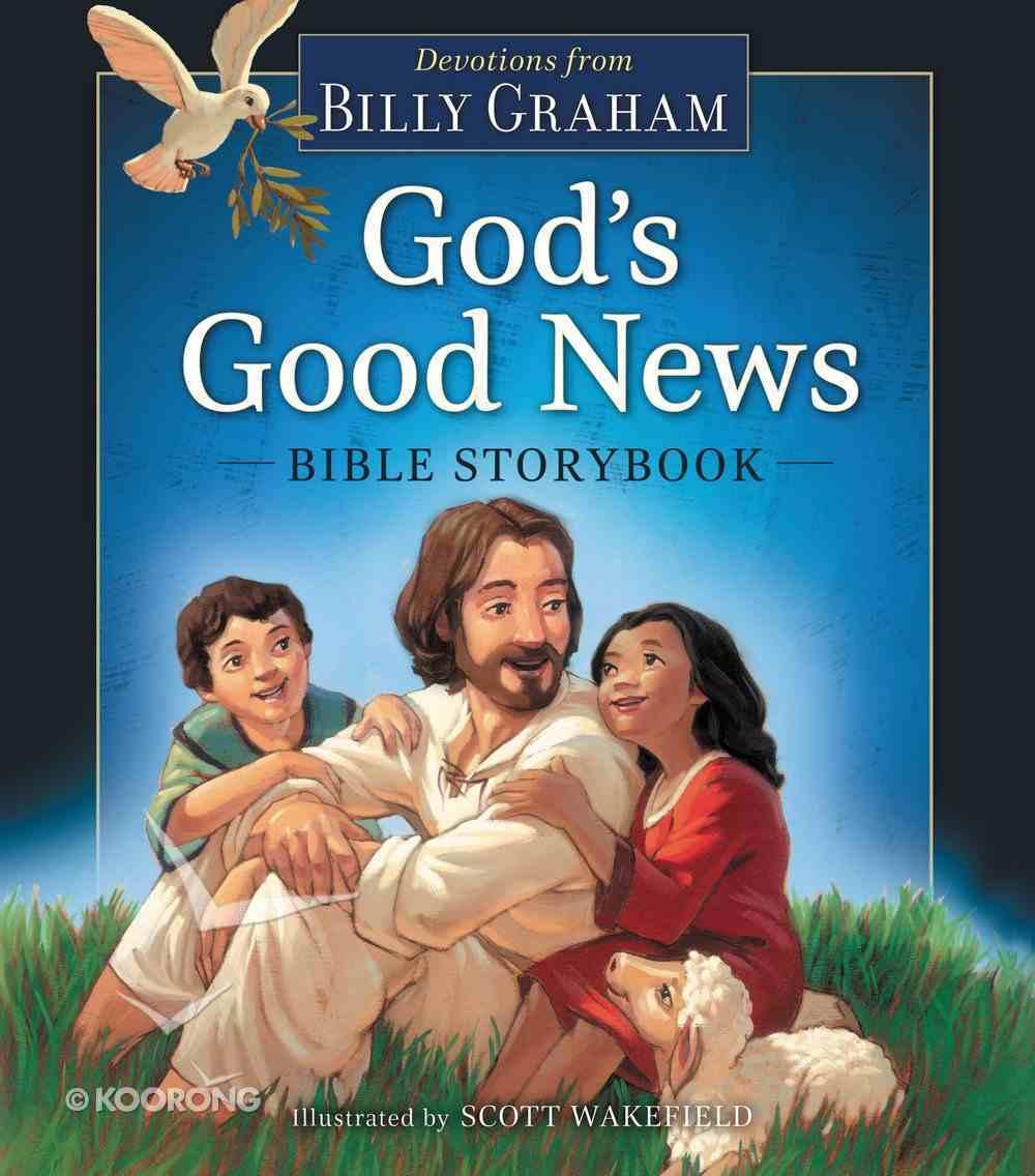 God's Good News Bible Storybook Hardback