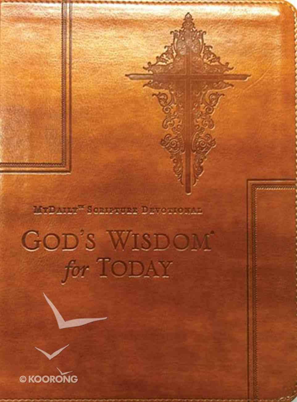 God's Wisdom For Today Genuine Leather