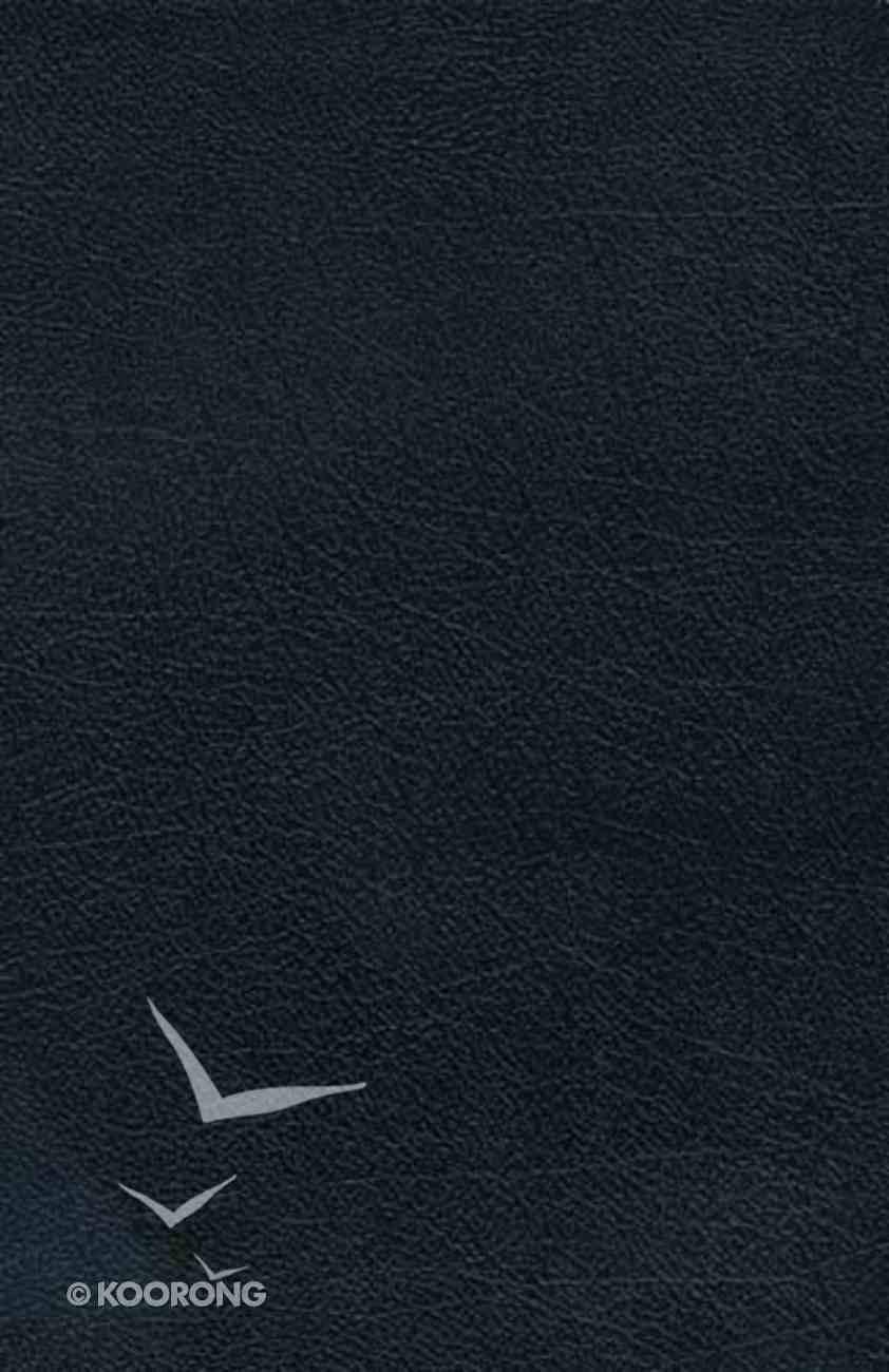 NKJV Charles F. Stanley Life Principles Indexed Black (Black Letter Edition) Bonded Leather