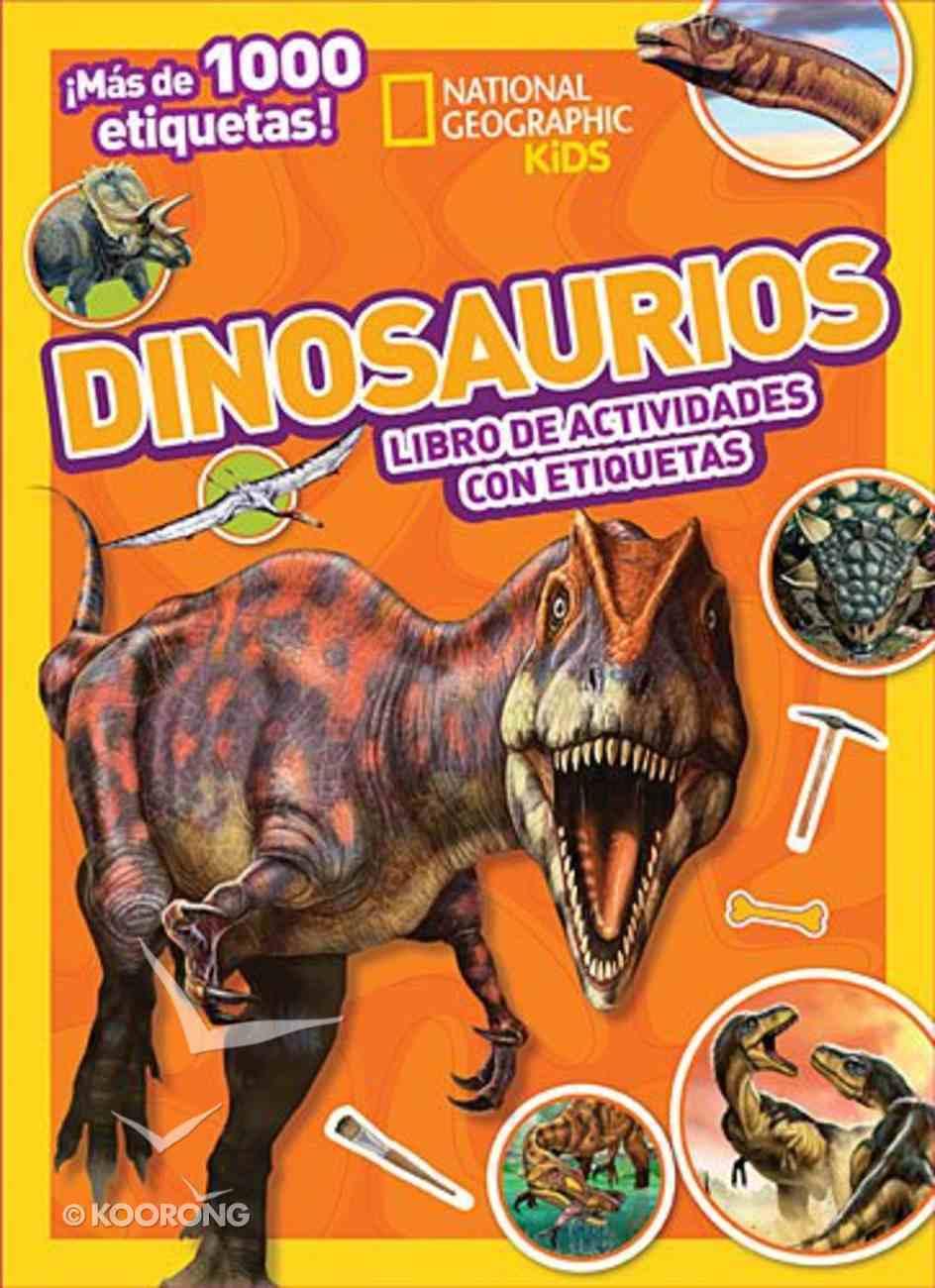 Dinosaurios (Dinosaurs Stickers Activity) Novelty Book