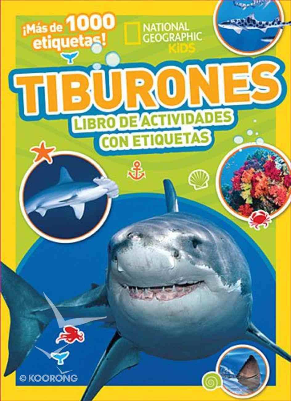 Tiburones (Sharks Activity Stickers) Novelty Book