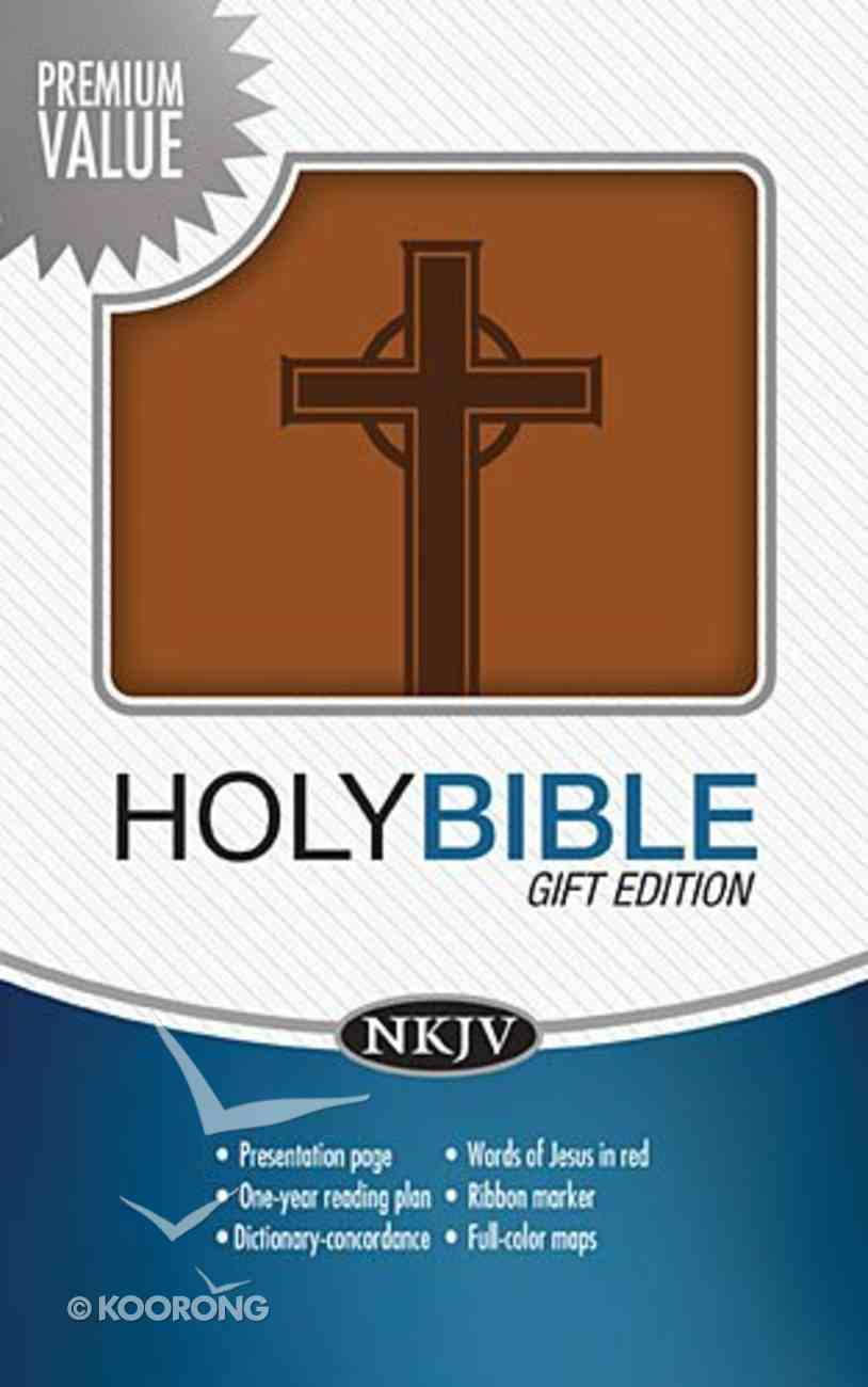 NKJV Gift Bible Toffee (Essentials) Imitation Leather