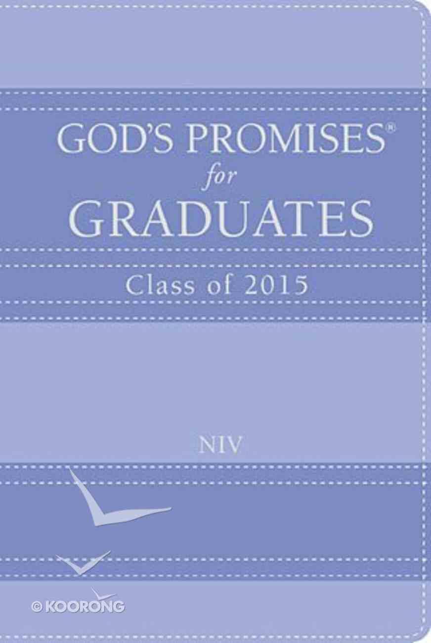 God's Promises For Graduates: 2015 - Lavender (Niv) Hardback
