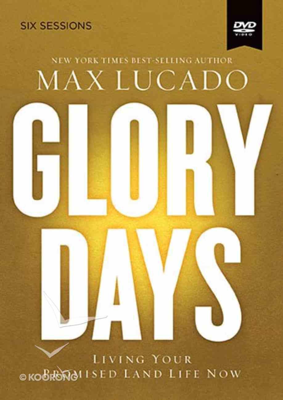 Glory Days (A Dvd Study) DVD