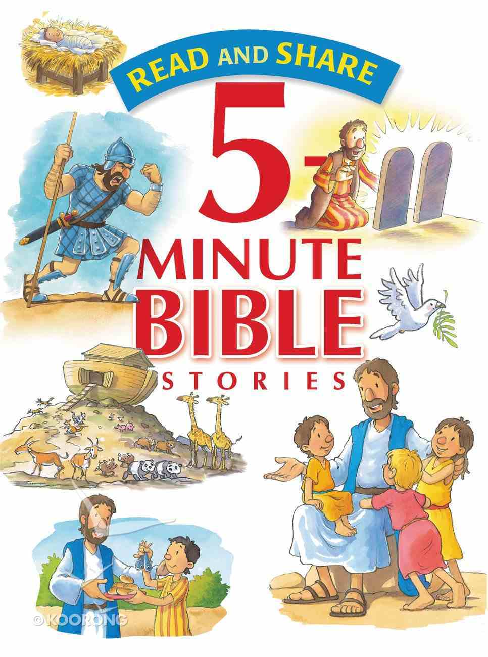 5 Minute Bible Stories (Read And Share Series) Hardback