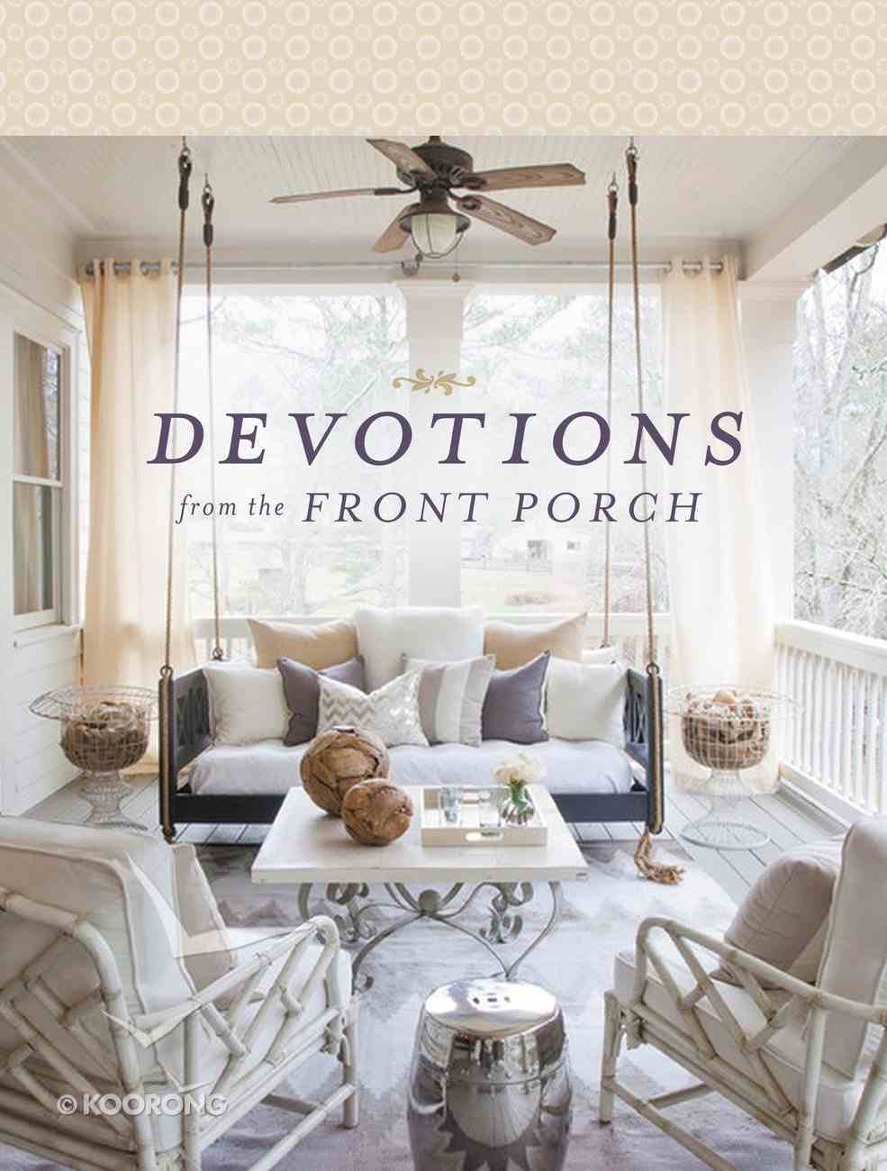 Devotions From the Front Porch Hardback